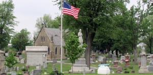 View of Grove Cemetery