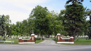 Main Entrance to Grove Cemetery