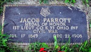 Parrott veteran's marker