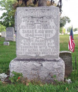 Headstone of Jacob Parrott, First Medal of Honor winner